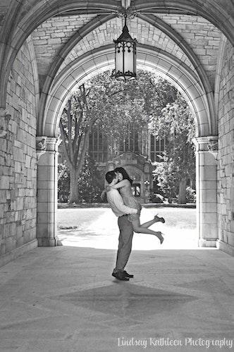 Amanda_Gareth_Engagement_U of M_Swinging_Lindsay Kathleen Photography