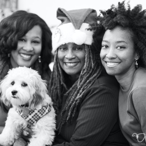 Davis Family - Home for the holidays.