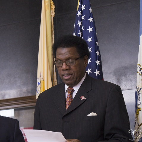 Kaleem Shabazz Annouces Third Ward Candidacy - Febuary 26, 2015. City Hall. Atlantic City, NJ