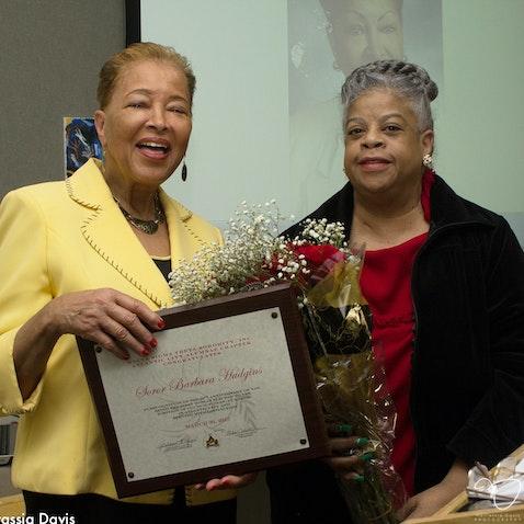 Barbara Hudgins: A Lifetime of Service - Atlantic City Public Library - March 30, 2015.