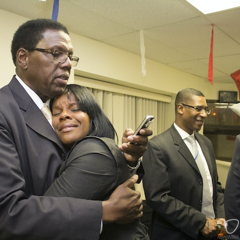 SHABAZZ WON - Kaleem Shabazz Victory Party at Headquarters, 334 N. Tennessee Ave, Atlantic City, for 3rd ward councilman. Tuesday, June 2, 2015