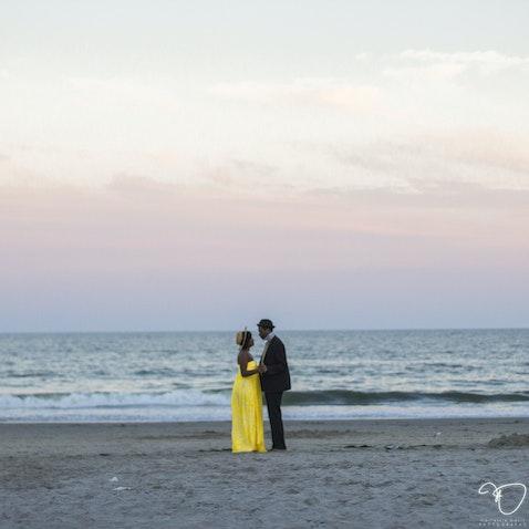 Gia & Jonathan Engagement Shoot (Scene XII) - BEACH SCENE - Atlantic City, NJ - July 23, 2015