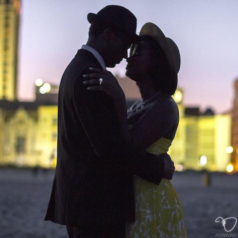 Gia & Jonathan Engagement Shoot (Scene XII!) - AC BEACH - July 23, 2015