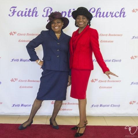 Faith Baptist 40th (Red Carpet) - Feb 27, 2016 - Carriage House