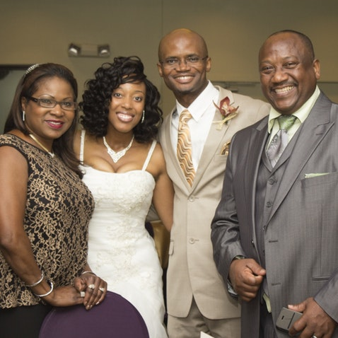 Rashida & John Wedding - Reception