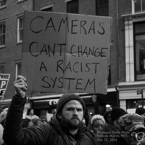 Millions March NYC - Photos of protestors marching against Police Brutality. December 13, 2013