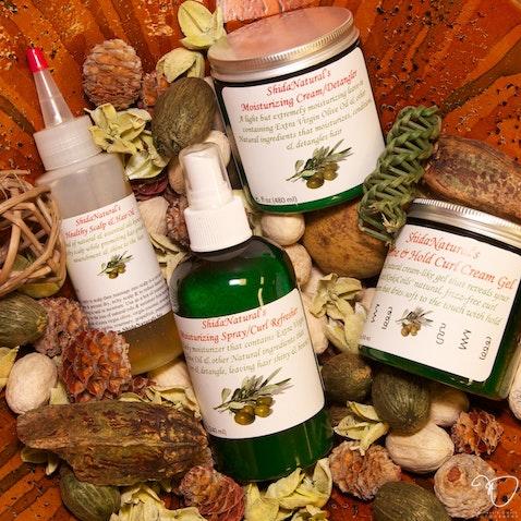 Shida Natural Hair Products - Photographed at Kinhairitage Salon in Mayslanding, NJ