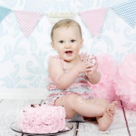 Lila turns ONE!!!  Happy Birthday sweetness!!
