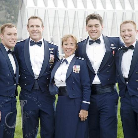 Zachary Spranger Commissioning USAFA Class of 2014