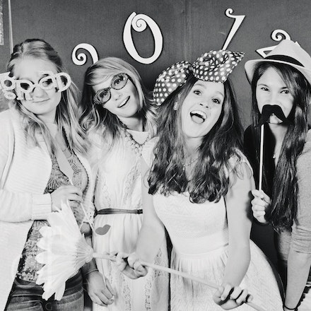 Maddie and Caroline's Grad Party! Class of 2014! Photo Booth fun!!