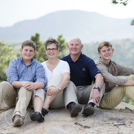 Parker Family/John's senior pictures - Palmer Ridge High School