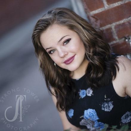 Beautiful Breanna...Class of 2018! - Falcon High School