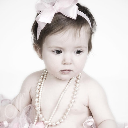 Kistner 3-3-11 - Camille....one year old and precious as ever!