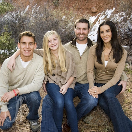 The beautiful Cox family.
