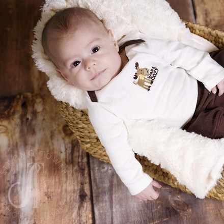 Liam...4 Months old and cute as ever!