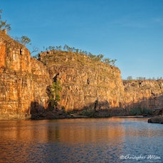 Katherine Gorge, NT - On a recent trip to Central Australia we took a boat trip dinner cruise on Katherine Gorge. The scenery was magnificent, unforgettable...
