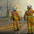 Mount Kuring-gai Hazard Reduction - NSW Rural Fire Service & Fire Rescue NSW conducted Hazard Reduction work at Mount Kuring-gai.