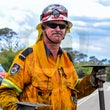 Cahills Lookout - Katoomba 11/12/2014 - Fire & Rescue NSW along with Rural Fire Service crews responded to reports of a bushfire on Cliff Drive, Katoomba.