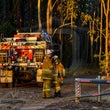 Richmond Vale Bushfire - 13/09/2017 - Emergency Services respond to a major bushfire South of Kurri Kurri.