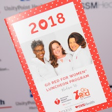 AHA Go Red For Women Lunch 2018