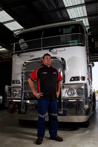 IK_14-03-14_0013 - Paccar Australia Technician of the Year 2014 at Kenworth Melbourne. Friday March 14th, 2014. Image Copyright Ian Knight © 2014