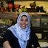 IK_06-03-14_0068 - Samira El Khafir poses in her kitchen at the Australian Islamic Museum in Melbourne, Australia on March 6th 2014.