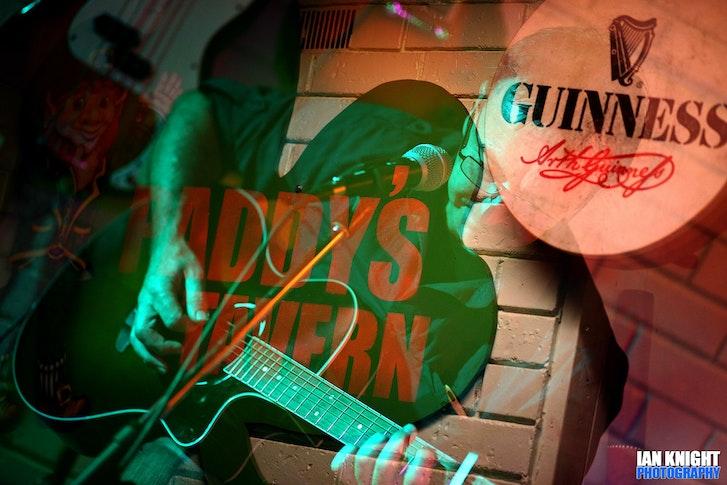 Mark at Paddys Tavern