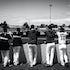 IK_101114_1464 - MELBOURNE ACES DUGOUTABL 2014/2015 - MELBOURNE ACES V BRISBANE BANDITS - 10TH NOV 2014. Action from Game 4 of the Australian Baseball...