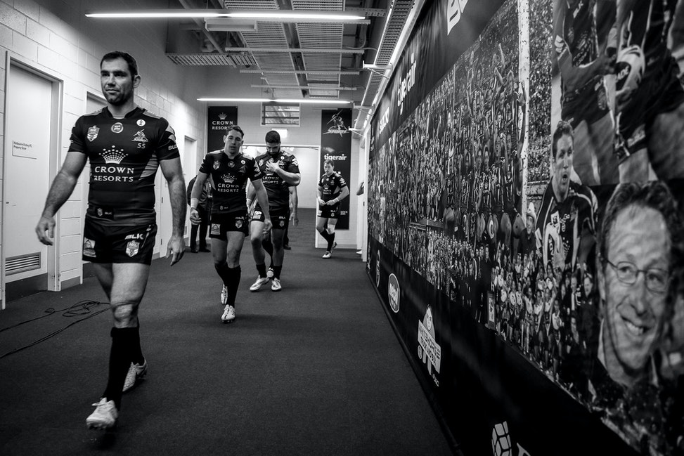 NRL 2015-27 - Cameron Smith (Melbourne Storm) Digital Image by Ian Knight © nrlphotos.com: NRL, Rugby League, Round 10, Melbourne Storm v South Sydney...