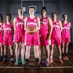 WBA Pink Uniforms - Werribee Basketball Association promo photos