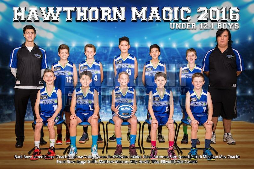 Boys 12-1 Team PRINT