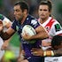 Smith, C 1603071008 - NRL Premiership - Round 01 - Melbourne Storm V St George Dragons - 07 March 2016 - AAMI Park, Melbourne, Vic - Ian Knight