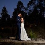 Jess & Aydin - Wedding Photos @ Potters Reception, Warrandyte