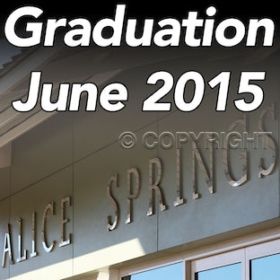 June 2015 CDU Graduations - Alice Springs