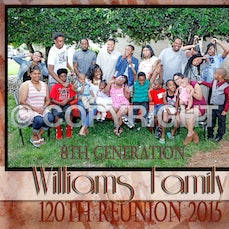 Williams Generation Family Photos