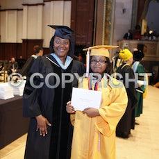 DSA Graduation 2015 walking across the stage