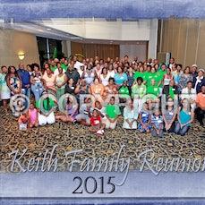 Keith Reunion Family 2015