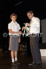 2011 Medals Sem1 Middle School - Carey Middle School Medals of Excellence, Swimming and Easter.