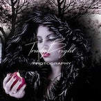 Fantasy Halloween - For these Fantasy shoots I do the hair, make-up & in this case nails.