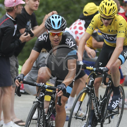 Chris Froome & Richie Porte