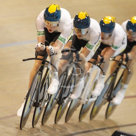 Jnr Worlds Men Team Pursuit - 2012 Junior Track Worlds
