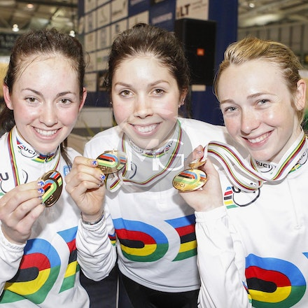 Jnr Worlds Women Team Pursuit