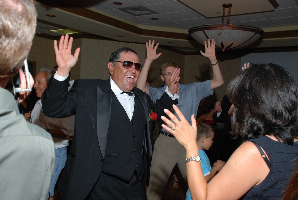 Dad dancing picture