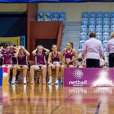 ANL Round 2 Qld Fusion vs Tassie Spirit - Australian Netball League 27/6/2015