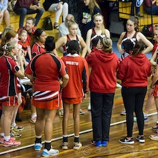 2015 SEQ Grand Final U16 Div 1 Wests vs Shailer Park - 2015 SEQ Challenge Grand Final U16 Div 1 Western Districts Netball Association vs Shailer Park Netball...