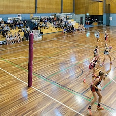 2015 SEQ Grand Final U16 Div 2 Southport Carrara vs Highfields - 2015 SEQ Challenge Grand Final U16 Div 2 Southport Carrara Netball Association vs Highfields...