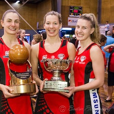 QSNL 2016 Grand Finals, Div 1 & Presentations - Images from the Samsung Queensland State Netball League Grand Finals Division 1, including presentations...
