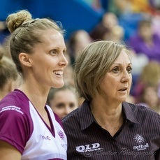 ANL Round 1 30/4/2016 Qld vs NSW - Images from the first round of the Australian Netball League, played 30/4/2016 Qld Fusion vs NSW Waratahs