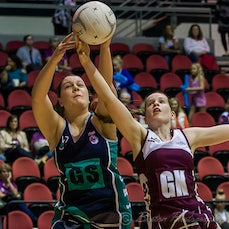 ANL Round 6 4/6/2016 Qld vs Vic GCCEC - Images from the round 6 of the Australian Netball League, played at Gold Coast Convention & Exhibition Centre,...