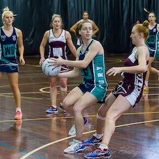 ANL Round 6 5/6/2016 Qld vs Vic Carrara - Images from the round 6 of the Australian Netball League, played at Carrara Indoor Sports Stadium 5/6/2016 Qld...